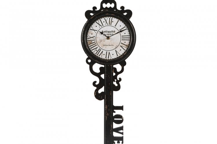 Classic Old Love Key Wall Clock